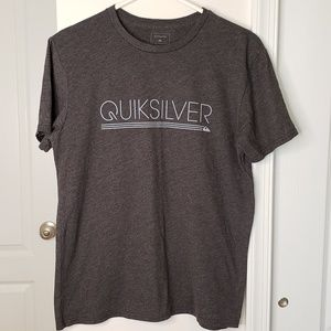 Quiksilver Gray short sleeve  t-shirt